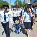 Прогулка с курсантами