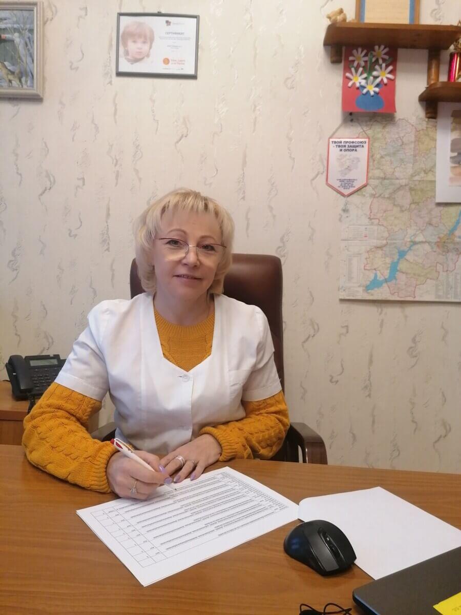 Главный врач ГКУЗ «ВОСДР» Сазанова Александра Константиновна